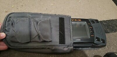 Atari Lynx II McWill LCD - Comes with Case and AC adapter - Serial:Y1241038836