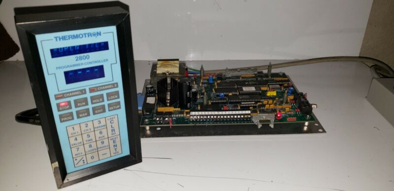 Thermotron 2800 Programmer / Controller and Main Board