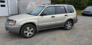 SUBARU FORESTER 2005+AWD+MAGS+AUTOMATIQUE+ESAPCE+ABORDABLE++ XS