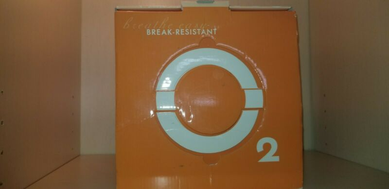 Oxygen 2 new open boxed break resistant glass drinkware