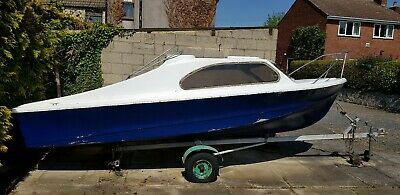 Shetland 535 16.5ft Boat with 25hp Outboard & Trailer