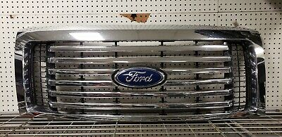 OEM 2009 11 12 2013 Ford F-150 F150 CHROME GRILLE Grill  CL3Z8200CB
