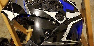 Used, ISTORM Motorcycle HELMET  ADULT XL  Helmet  for sale  Riverdale