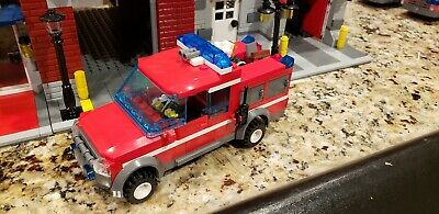 Lego City Custom Fire Truck- Squad / support