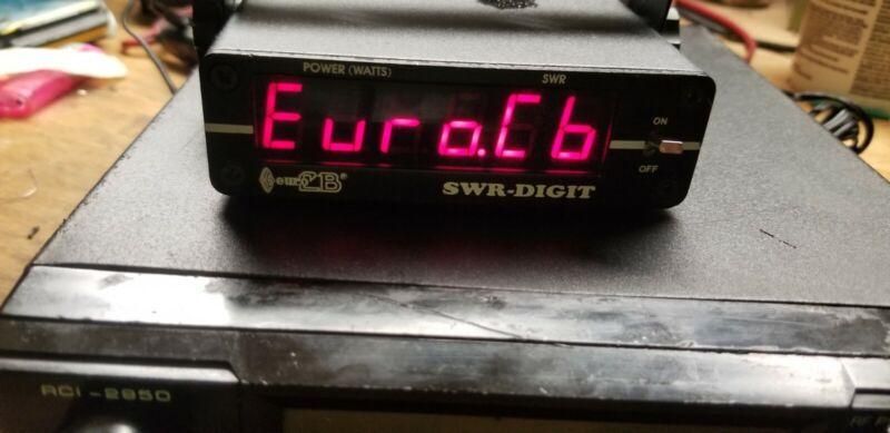 EURO POWER SWR DIGITAL METER FOR CB RADIO