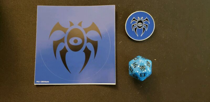 and Sticker x1 from Orzhov Guild Kit MTG Orzhov Pin spindown