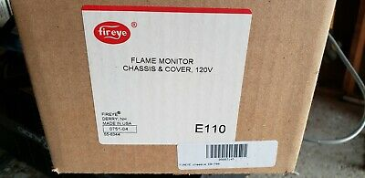 Fireye E110 Flame Monitor Chassis Cover 120 V New Factory Sealed Made In Usa