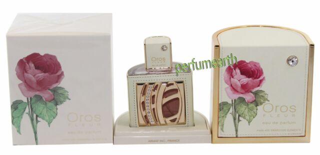 armaf oros fleur pour femme 2.9 oz eau de parfum with swarovski