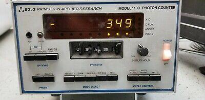 Egg Princeton Applied Research 1109 Photon Counter