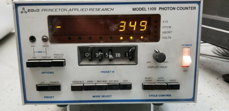 EG&G Princeton Applied Research 1109 Photon Counter