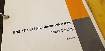 Case 570 Xlt 580l Construction King Parts Manual Bur 8-9942 Issued April 1997