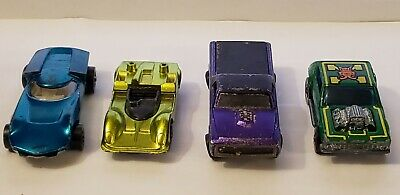 Vintage Lot of 4 Hot Wheels Redline Cars