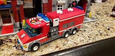 Lego City Custom Fire Truck- Tanker