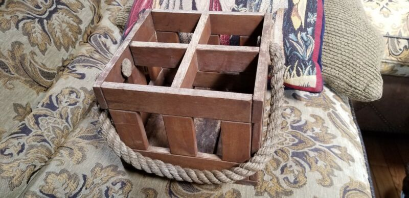 Vintage antique maritime box