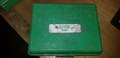 Greenlee Knockout Punch Hand Tool Set 737737bb