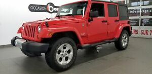 2013 Jeep Wrangler Unlimited Sahara WOW