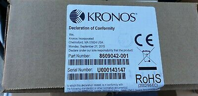 Kronos Intouch Biometric Fingerprint Scanner Device for H3 Employee Time Clock