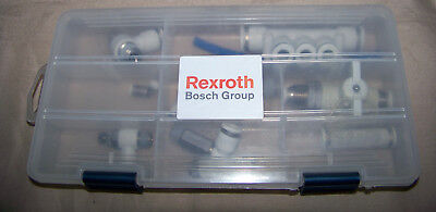 Lot Of Bosch Rexroth Miscellaneous Valves Fittings 38 516 14 Valve Fitting