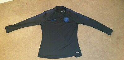 NEW Nike England Vapor Knit Womens Dri fit World Cup Training Drill Top M