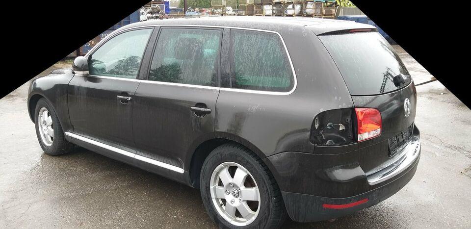 VW Touareg Schlachtfest in Schwabmünchen