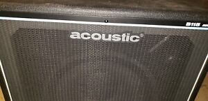 Acoustic B115 Bass Cabinet 250W 15