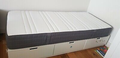 single bed with 3 drawers and with matress 90×200cm second h