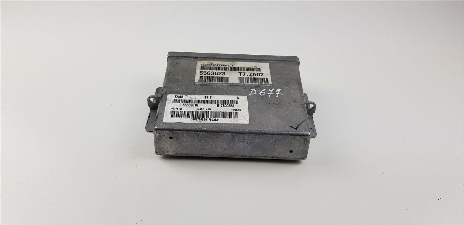 D677 SAAB ECU Control Module Unit 5563623