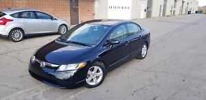 2007 Honda Civic Sdn LX LX | LOW KMS | POWER ALL | CERTIFIED