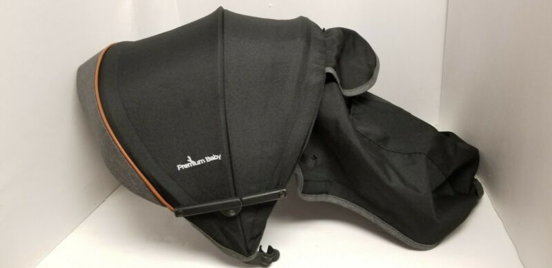 Premium baby Stroller Black Color Pack Sunshade Canopy Hood Replacement