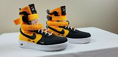 Nike SF AF1 High '17 Air Force 1 (Size 9.5) Laser Orange/Black/White (Nike Sf Air Force 1 High 17)