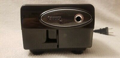 Panasonic Kp-310 Auto-stop Electric Pencil Sharpener Black Suction Cup Tested