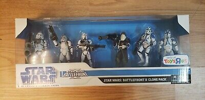 Star Wars Battlefront II Pack Clones 501st Legion Hasbro Legacy Collection