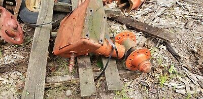 Allis Chalmers Unstyled Wc Narrow Front Bolster Complete Ac Nf