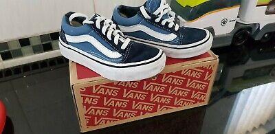 Boys Infant vans size 10 used