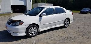 TOYOTA COROLLA S 2008+AUTOM+MAGS+A/C+FEMME PROPRIO+WOW++ Sport