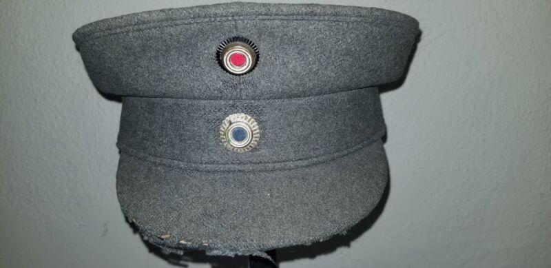 WWI Bavarian Officers  Very Rare, Model 1928, pre 1933 Schirmütze..  Size 56