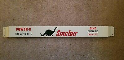 "30"" Door push bar antique vintage Sinclair gasoline advertising Sign"