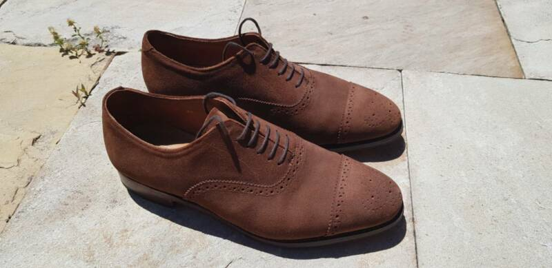 5a957909db8 Meermin Suede Oxford 8.5UK