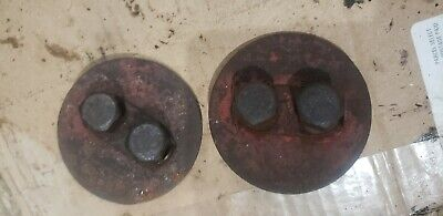 Ford 8n Tractor 3 Point Top Rock Arm Shaft Covers Locks Cover Plates 2n 9n Parts