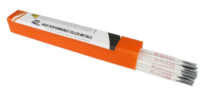 "SÜA - Aluminum E4043 Stick Electrode Rod 5/32"" x 14"" - (1 Lb)"