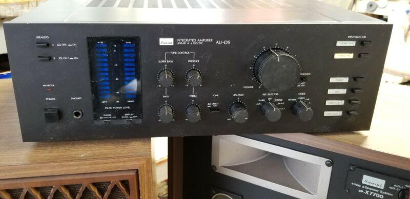 Vintage SANSUI AU-D5 Integrated Amplifier Stereo Equalizer