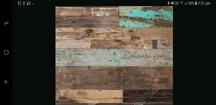 Wanted: Wanting Recycled timber feature wall