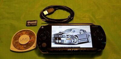 SONY PLAYSTATION PORTABLE PSP~NEAR MINT !!~NEW BATTERY~NEW CHARGER~MEM CARD~GAME