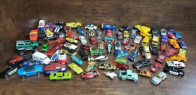 Lot Of 88 Toy Cars Hot Wheeels, Matchbox, Maisto, And Other Unbranded Cars  Maisto Toy Cars
