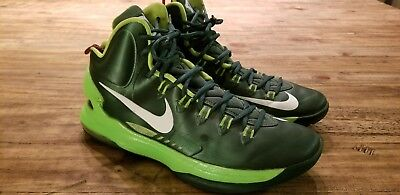 super cute 91ade 00fe7 Nike Zoom KD V ID Kevin Durant Green White Mens Size 11 607467-991  Basketball