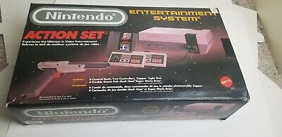 Nintendo Entertainment System Action Set BOX ONLY No styrofoam