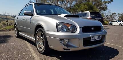 2004 Subaru Impreza WRX turbo intercooled G2  Hatchback Calder Park Brimbank Area Preview