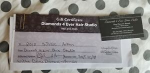 Diamonds 4 Ever - shampoo, cut, style