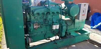 Onan Diesel Generator 125kw 480v 3ph