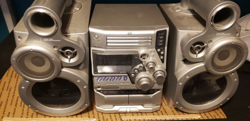 JVC  Stero Reciever MX- GT80 with Speakers SP-MXGT80 Extended Super Bass